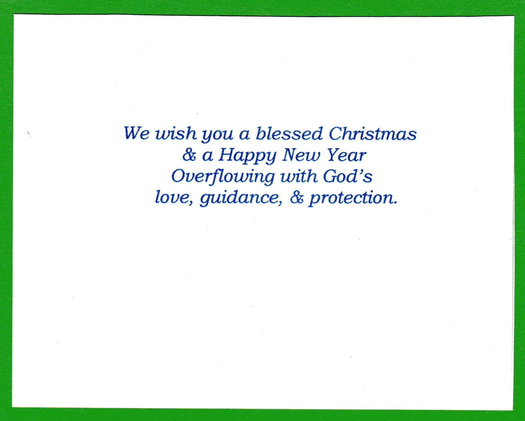 organization greeting card